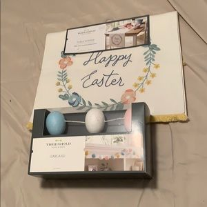 Threshold Happy Easter Table Runner & Egg Garland